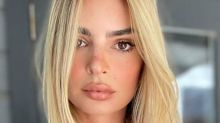Emily Ratajkowski Just Dyed Her Hair Blonde and Looks So Different