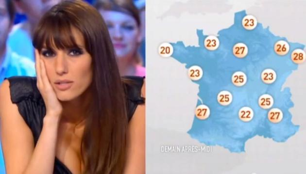 French Weather Girl Doria Tillier Promised To Do Her Show Naked If France Reached The -1317