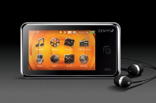 Creative announces Zen X-Fi2 touchscreen PMP (video)