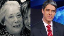 Mãe de William Bonner morre e jornalista faz desabafo: 'Partiu cedo'