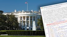 Secret message spotted in code on new White House website
