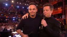 Holly Willoughby accepts NTA on behalf of Ant and Dec for I'm a Celeb