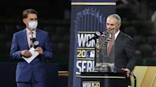 Rob Manfred seemed legitimately shocked after being booed during World Series ceremony