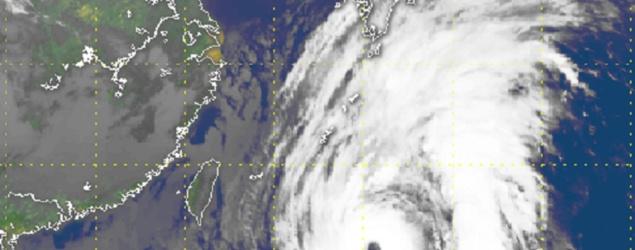 強颱風蘭恩威脅日本