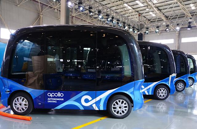 Baidu will deploy its self-driving buses in Japan