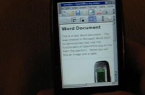 webOS port of Xorg in the works, OpenOffice support the inevitable result