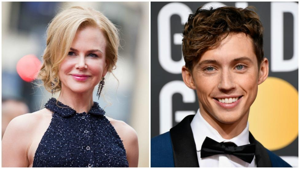 Troye Sivan reveals why he's Nicole Kidman's biggest fan