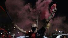 Torcedores em Rosário fazem carreata pedindo volta de Messi ao Newell's Old Boys
