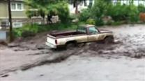 More rain in Colorado town hit by deadly mudslide