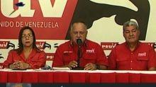 Líder chavista desestima nuevas sanciones de EEUU a Venezuela