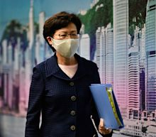 US sanctions Hong Kong chief executive Carrie Lam