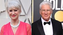 From Helen Mirren to Richard Gere, the 20 celebrities who have aged best