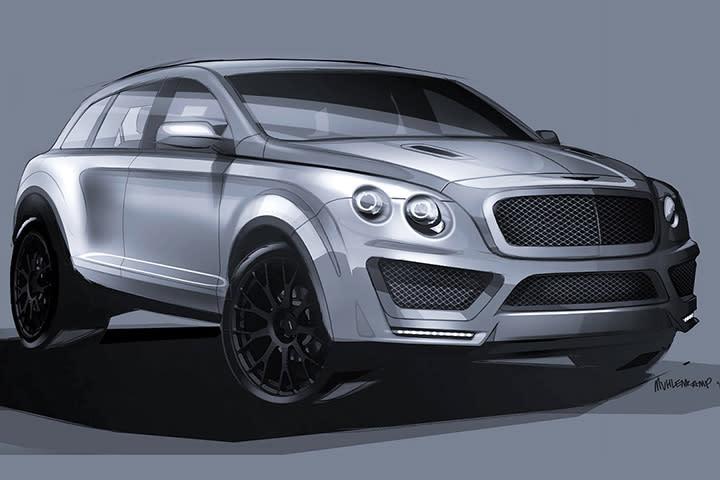 Bentley Suv Concept Bentayga Image