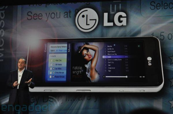 LG GW990: first Moorestown smartphone gets official, runs Moblin
