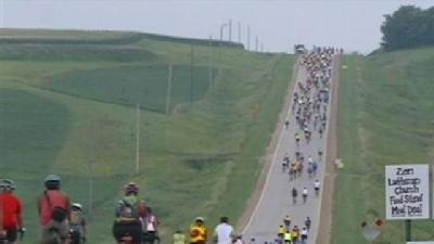 On Road With RAGBRAI, Day 2