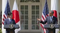 Obama, Abe Promise Cooperation on Pacific Trade Talks