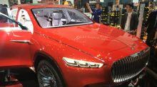 Pékin 2018: Mercedes-Maybach réinvente la limousine de luxe en SUV électrique