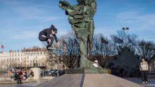 Skateboard - Skateboard: les tricks déments d'Aurélien Giraud à Lyon en vidéo