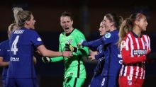 Emma Hayes praises Chelsea FC 'character' after eventful Women's Champions League win over Atletico Madrid