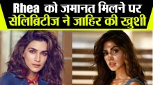 Bollywood Celebrities tweet in favor of rhea Chakraborty
