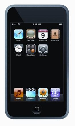 Apple's iPod touch gets official