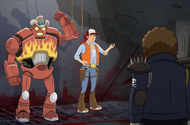 'Dallas & Robo' pairs a trucker and a robot to save the solar system