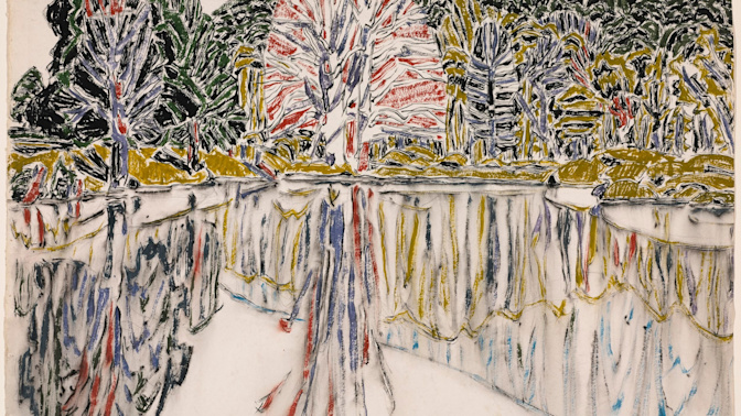 A raw engagement with the land - David Milne, Dulwich Picture Gallery, review