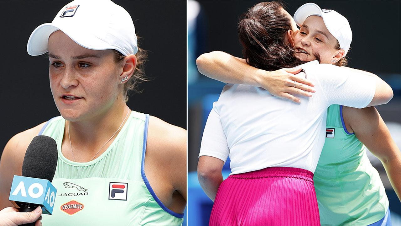 'Really proud of you': Former partner's touching moment with Ash Barty