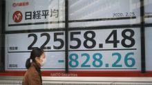 Bourse de Tokyo: le Nikkei chute de 4% à l'ouverture à cause du coronavirus