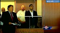 Hernandez Arraigned on Murder Charge