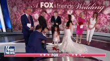 'Fox & Friends' holds on-air wedding ceremony and people have thoughts