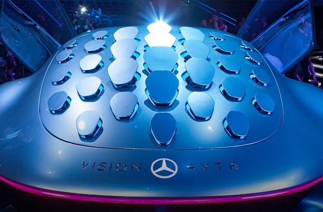 Mercedes unveils crazy concept car inspired by 'Avatar'