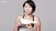 Asians are insulted by this video showing 100 people mostly criticising the durian