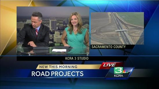 Crews make progress on major road projects in Sacramento
