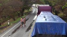 Camioneros atrapados en frontera Nicaragua-Costa Rica por pandemia