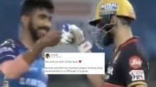 Virat Kohli, Bumrah Fist-bumping After Cliffhanger Game Shows the Lighter Side of IPL