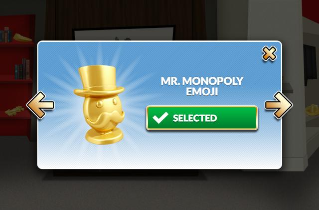 You can vote for emoji to replace the current Monopoly tokens