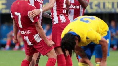 1-1. El Cádiz gana al Atlético de Madrid el Carranza en los penaltis