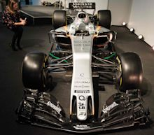 Force India F1 car launch: VMJ10 unveiled at Silverstone as owner Vijay Mallya bites back at Renault boss