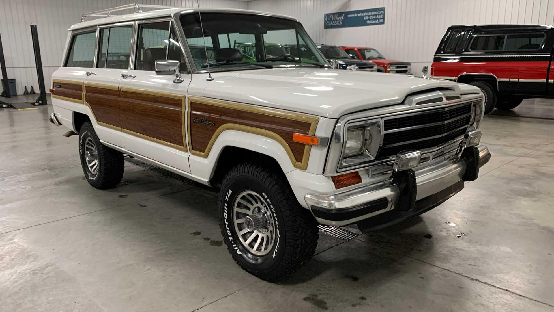 cruise hard in a 1988 jeep grand wagoneer cruise hard in a 1988 jeep grand wagoneer