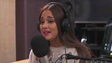 Ariana Grande tears up discussing her song about anxiety and the Manchester attack