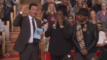 Hurricane victim sheds tears of joy after Jimmy Fallon offers some holiday help