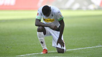 Bundesliga striker's poignant goal celebration