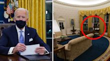 Hidden meanings behind subtle changes to Oval Office decor