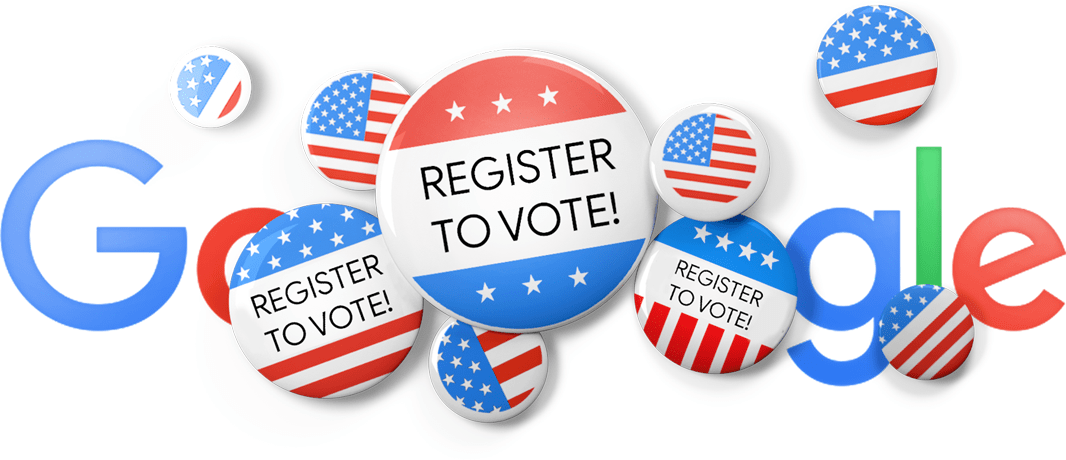 Today's Google Doodle Encourages Americans to Register to Vote Before the Midterms
