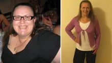 Woman loses a staggering 120kg after friends hold an intervention