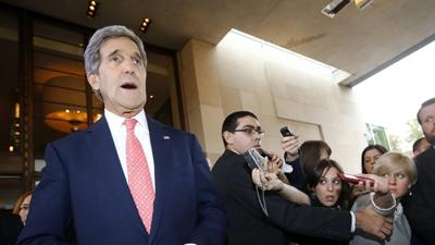 Kerry: No Agreement Yet in Iran Nuke Talks
