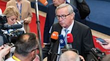 EU's Juncker Says the Risk of a No-Deal Brexit Is Now 'Palpable'