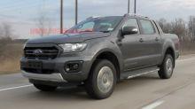 Ford Ranger Wildtrak spied alongside Ranger Raptor