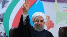 Iran's Rouhani defends his economic record ahead of May election